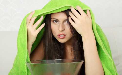 паровая сауна для лица, польза и вред паровых ванночек